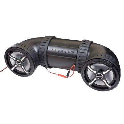 8 in. ATV-TUBE Off Road Bluetooth Speaker System