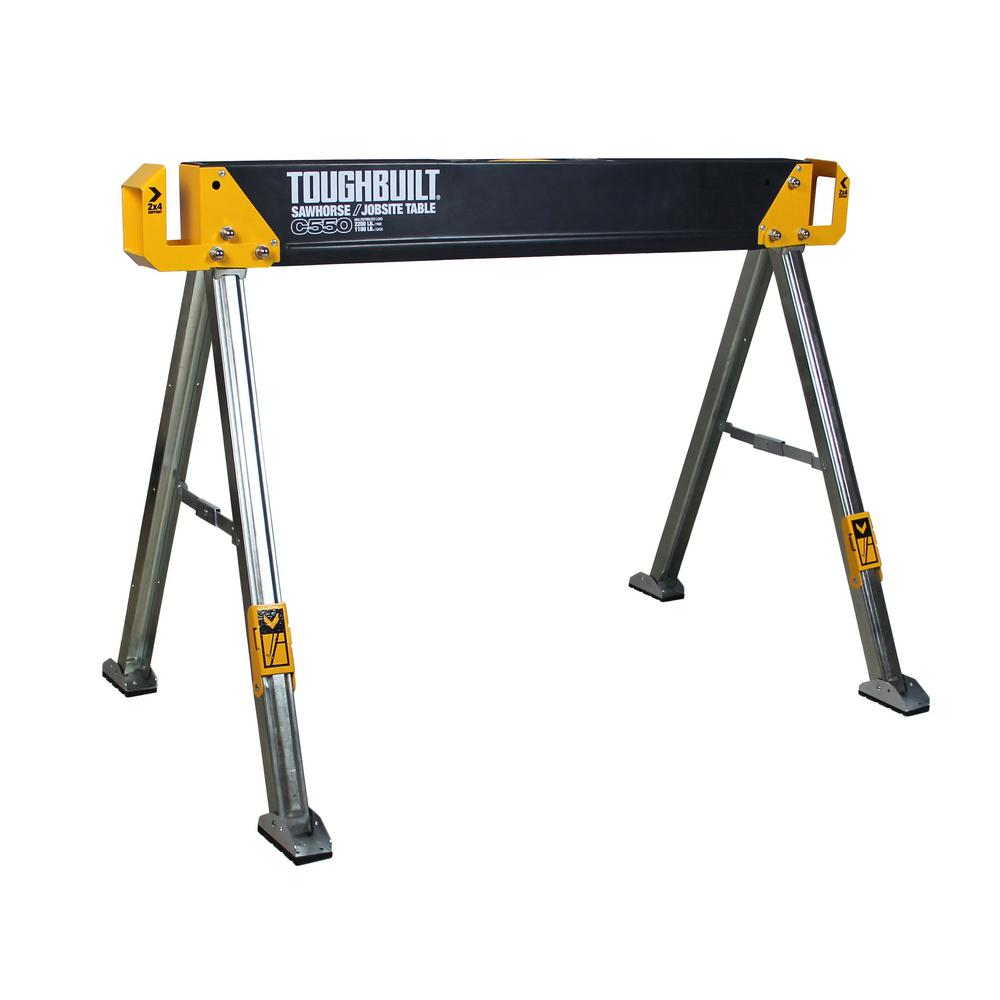 TOUGHBUILT 41.5 in. Folding Sawhorse
