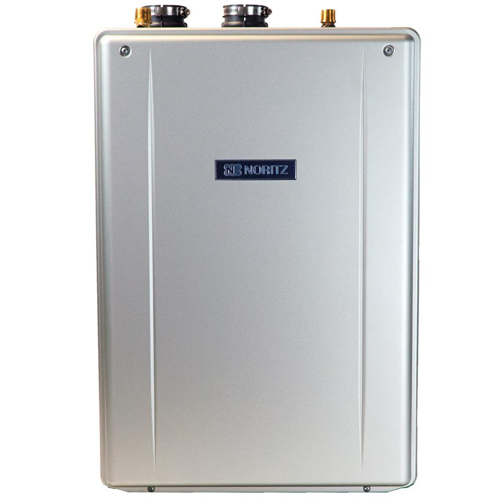 Noritz 9.8 GPM EZ Series - Natural Gas Hi-Efficiency Indoor/Outdoor Tankless Water Heater 12-Year Warranty and Wi-Fi Cmptble