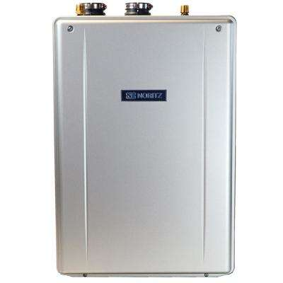 9.8 GPM EZ Series - Natural Gas Hi-Efficiency Indoor/Outdoor Tankless Water Heater 12-Year Warranty and Wi-Fi Cmptble