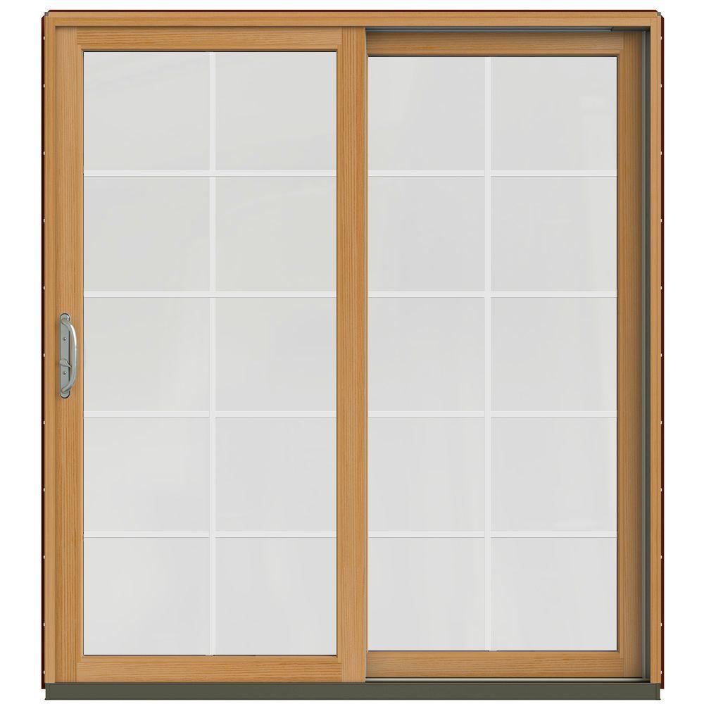 Single Door Wood Patio Doors Exterior Doors The Home Depot