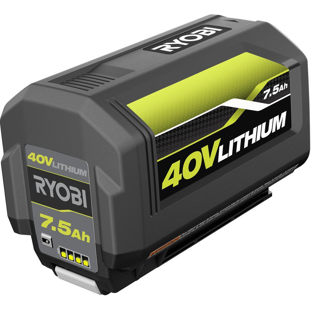 40-Volt 7.5 Ah Lithium-Ion High Capacity Battery