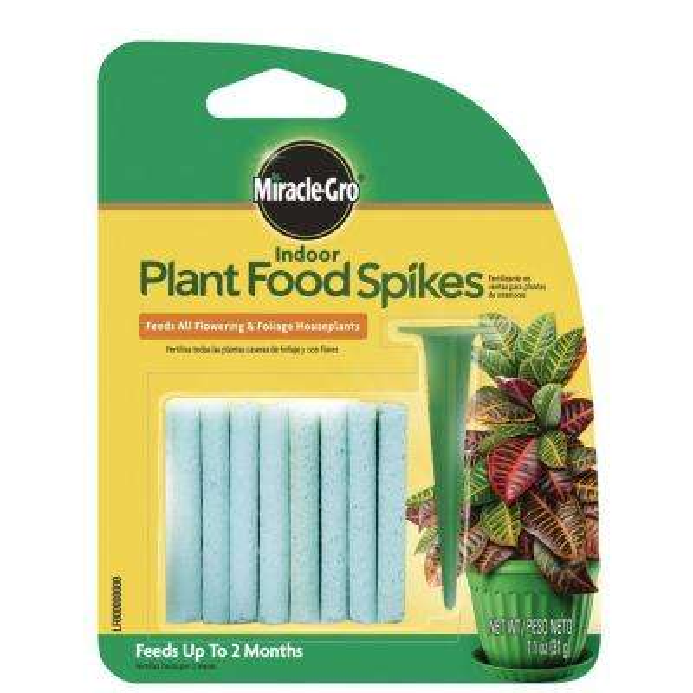 1.1 oz. Indoor Plant Food Spikes