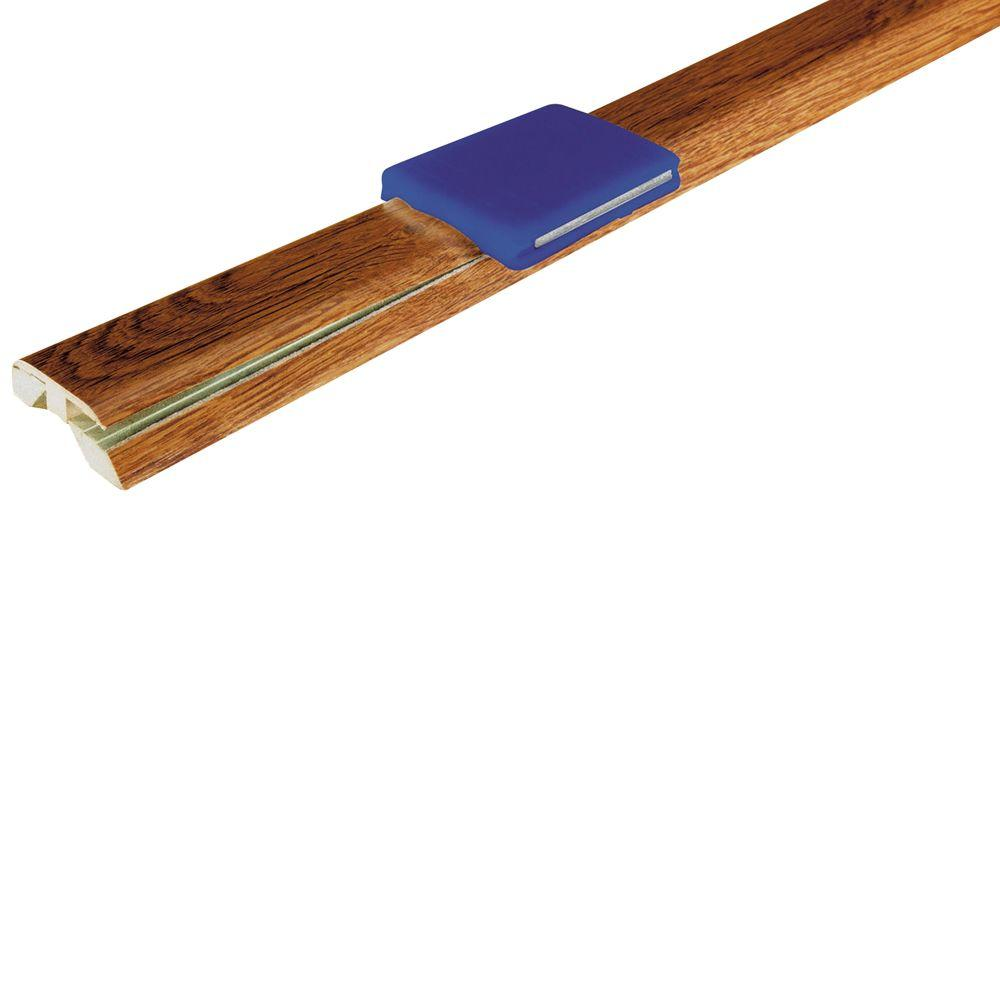 Mohawk Gunstock Oak 1.875 in. Wide x 83.5 in. Length 4-in-1 Laminate Molding-DISCONTINUED