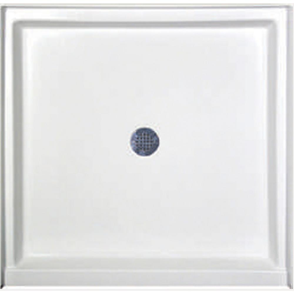 Hydro Systems 48 in. x 34 in. Single Threshold Shower Base in White