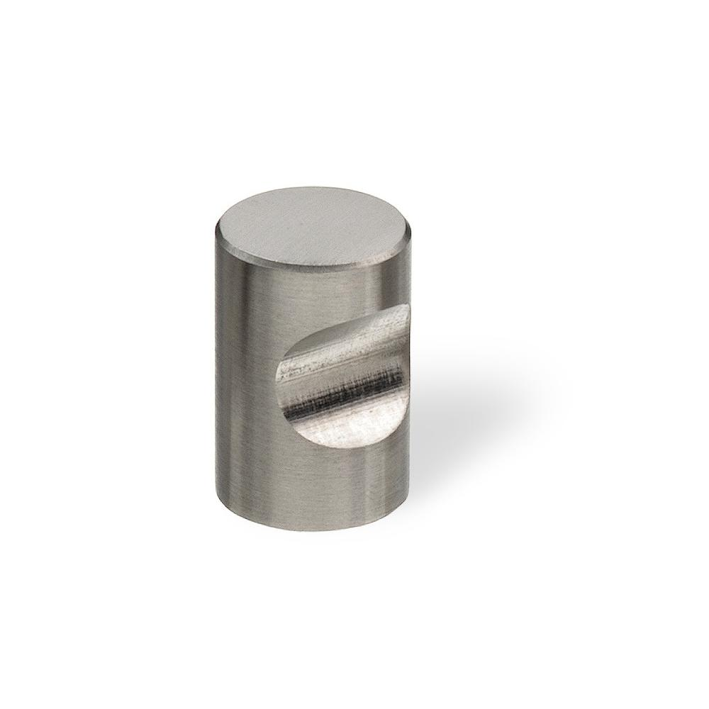 Attirant Brushed Stainless Steel Cabinet Knob 51112   The Home Depot
