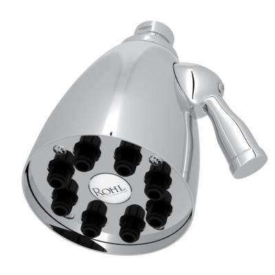Calliano 1-Spray 3.63 in. Fixed Showerhead in Polished Chrome