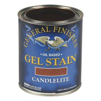 1-Qt. Candlelite Oil-Based Interior Wood Gel Stain