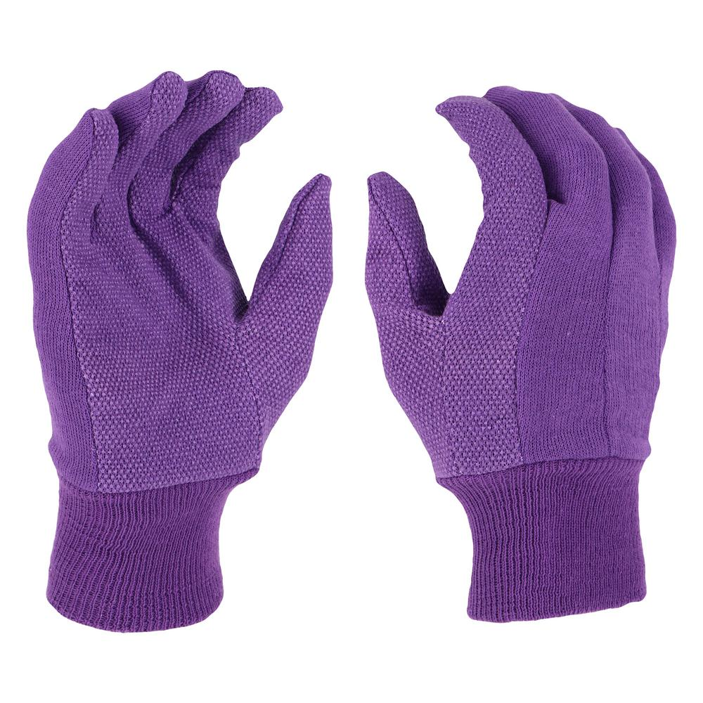 West Chester Protective Gear Women's Large Garden Jersey Gloves (2-Pack)