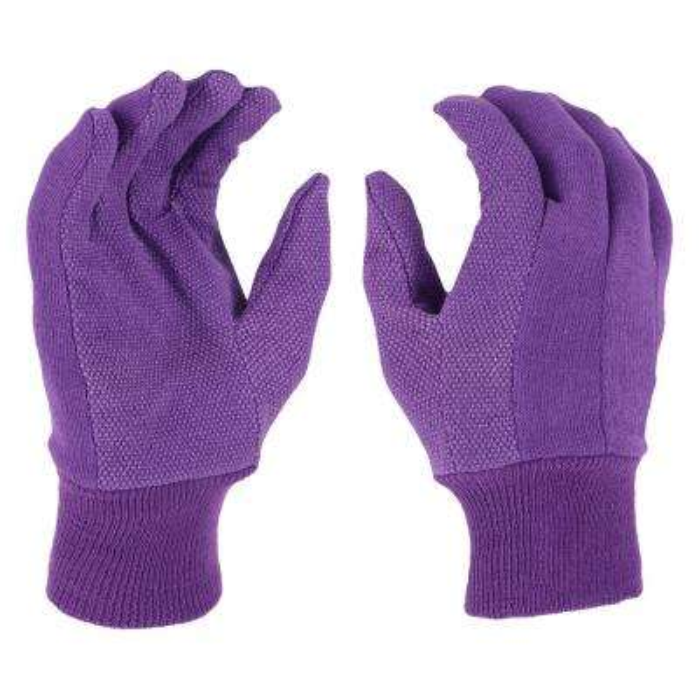Women's Large Garden Jersey Gloves (2-Pack)
