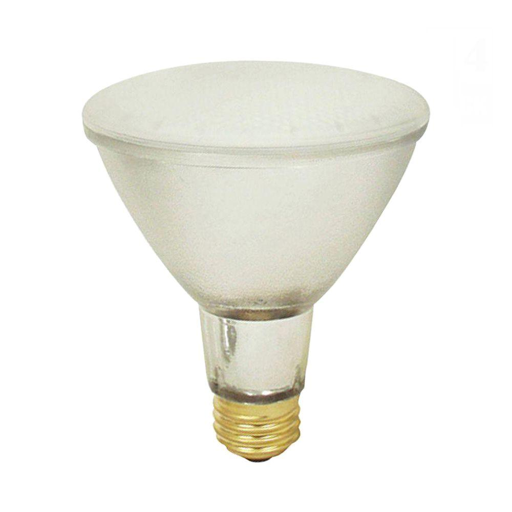 Feit Electric 75-Watt Par30 Long Neck Satin Glow Halogen Light Bulb (24-Pack)-DISCONTINUED