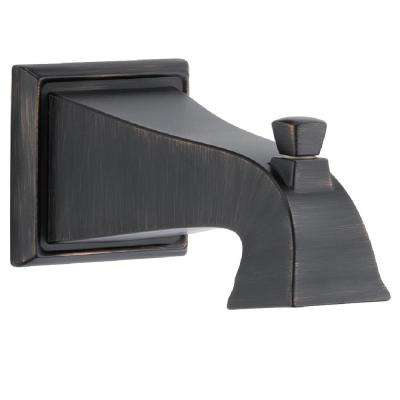 Dryden 7-1/2 in. Non-Metallic Pull-Up Diverter Tub Spout in Venetian Bronze