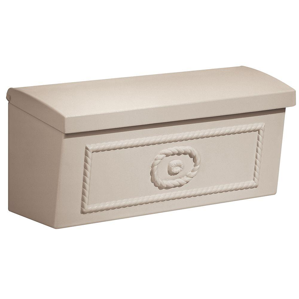 4500 Series Beige Surface-Mounted Townhouse Mailbox