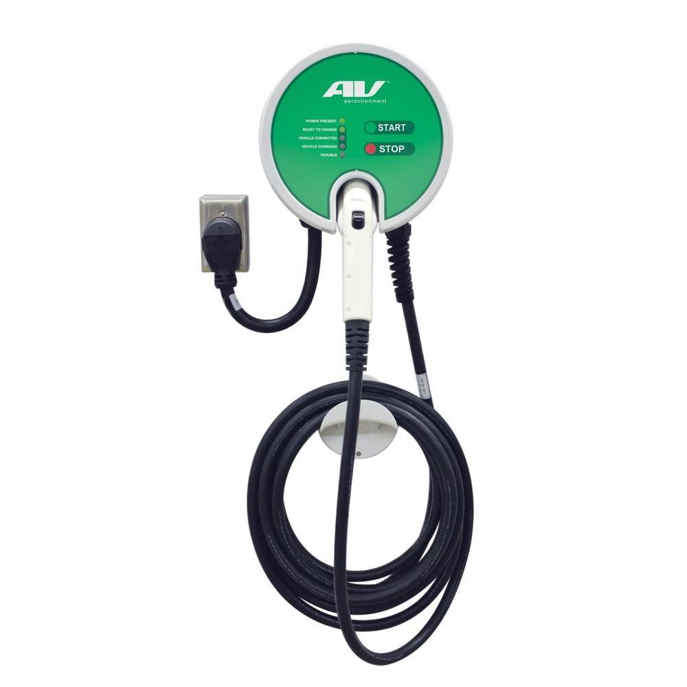 Webasto 32 Amp Level 2 Plug-In EV Charging Station with 2...