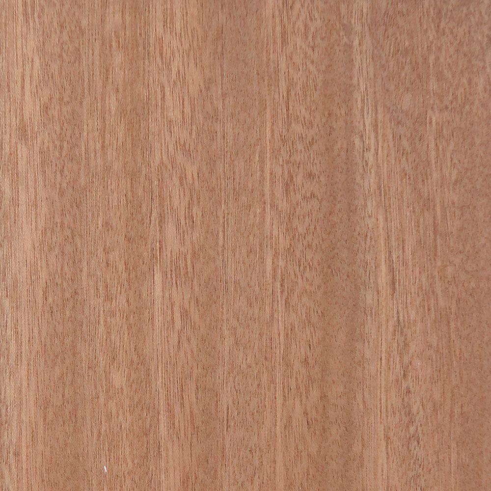4 in. x 3 in. Wood Garage Door Sample in Unfinished