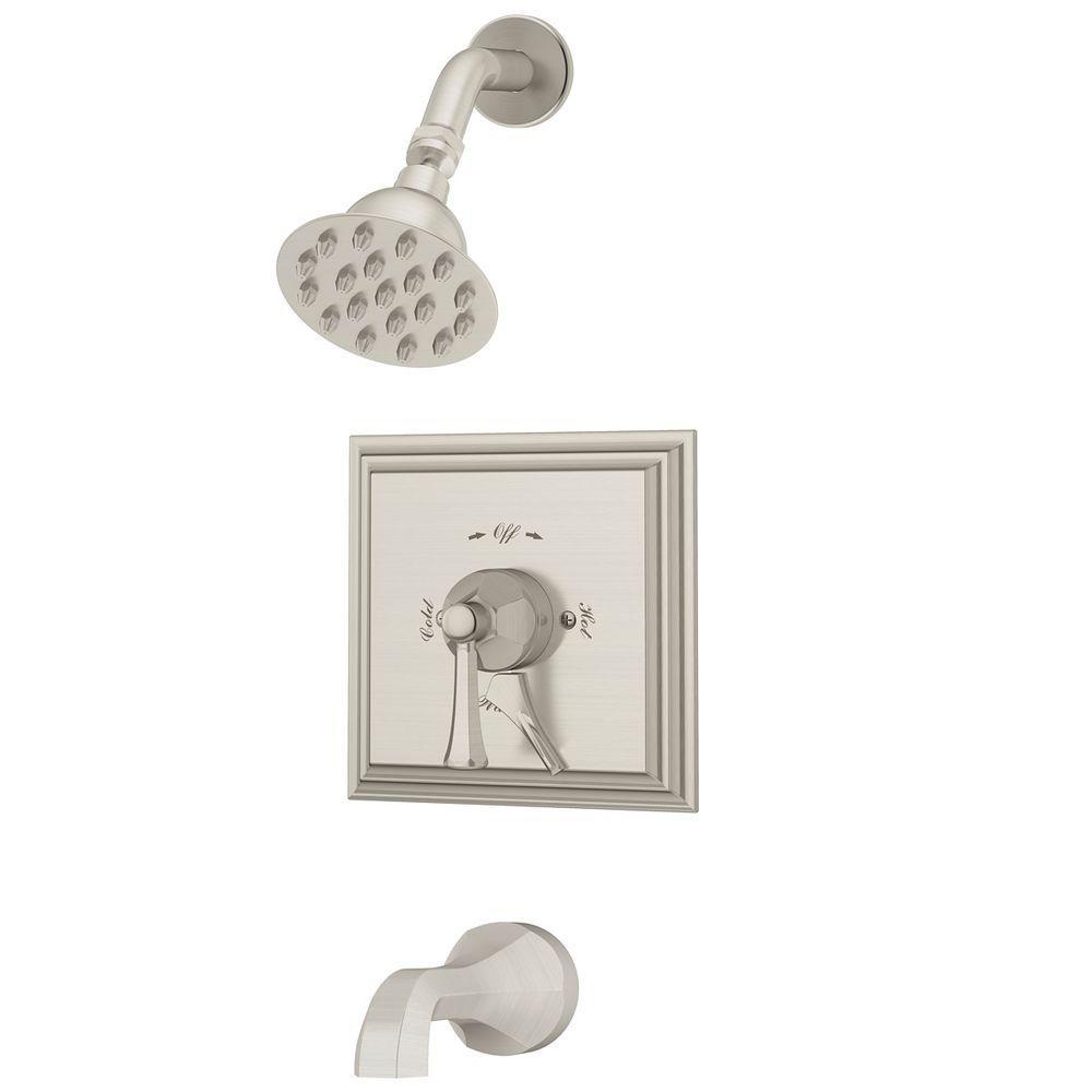 single handle shower faucet with diverter. Canterbury Single Handle 1 Spray Tub and Shower Faucet with Integrated  Diverter Pfister Pasadena 3 in