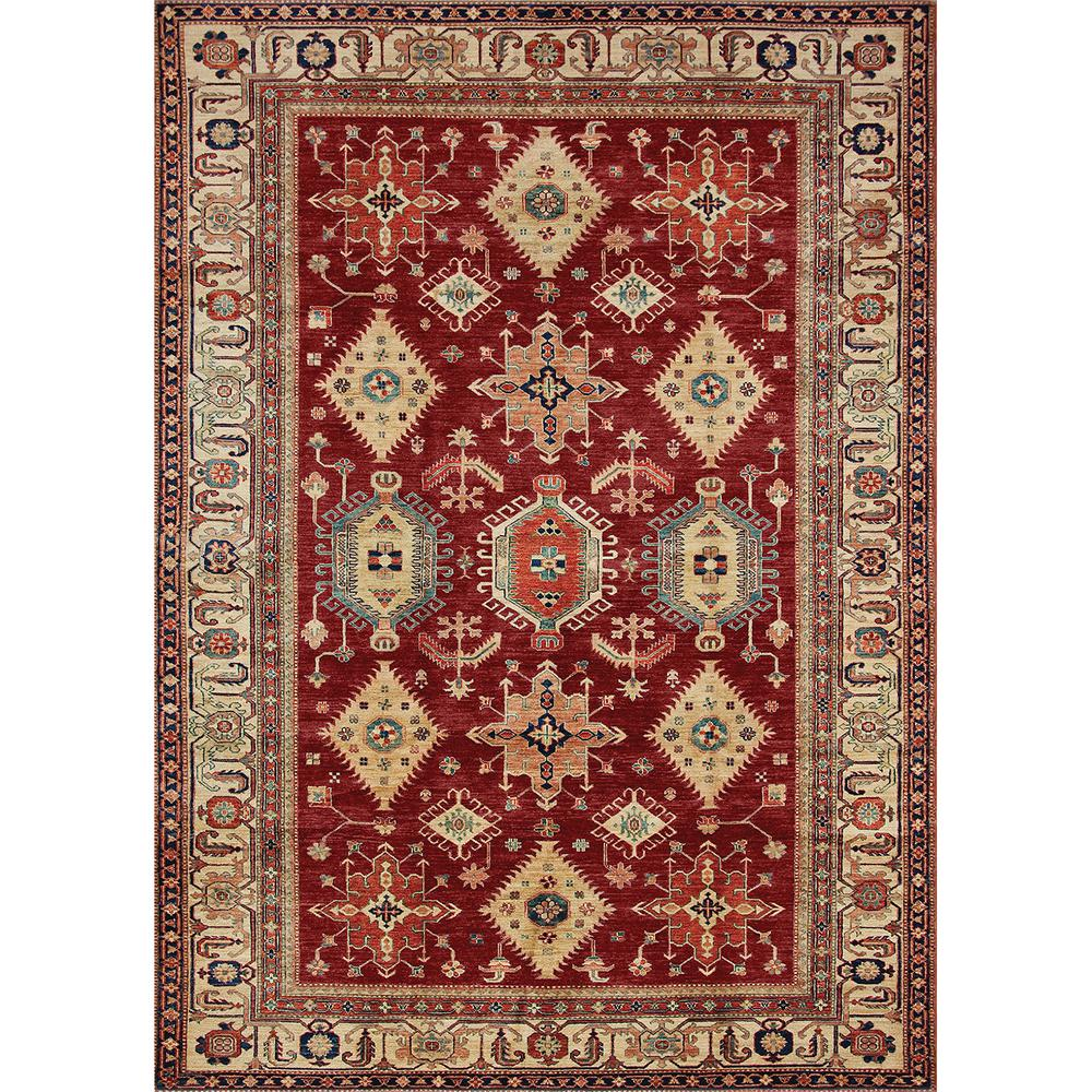 Ruggable Washable Noor Ruby 5 Ft X 7 Stain Resistant Area Rug