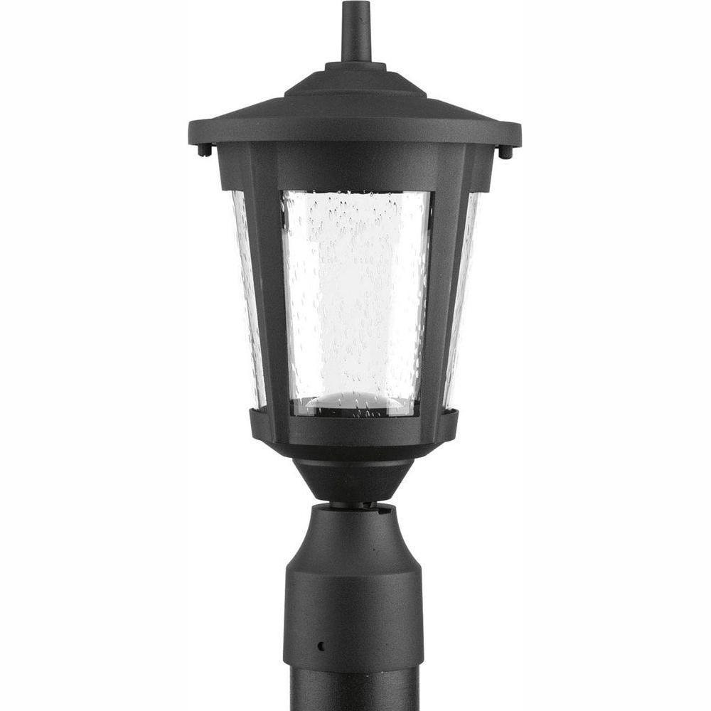 Progress Lighting Mac Collection 1 Light Black Outdoor: Progress Lighting East Haven Collection 1-Light Black LED