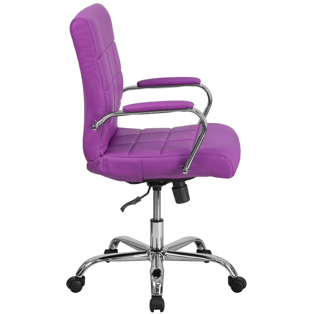 Stupendous Flash Furniture Purple Office Desk Chair Go2240Pur The Cjindustries Chair Design For Home Cjindustriesco