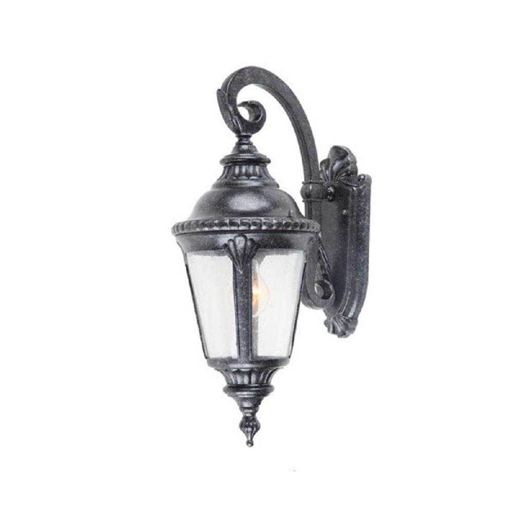 Dallin 1 Light Brownstone Outdoor Wall Mount Lantern Sconce
