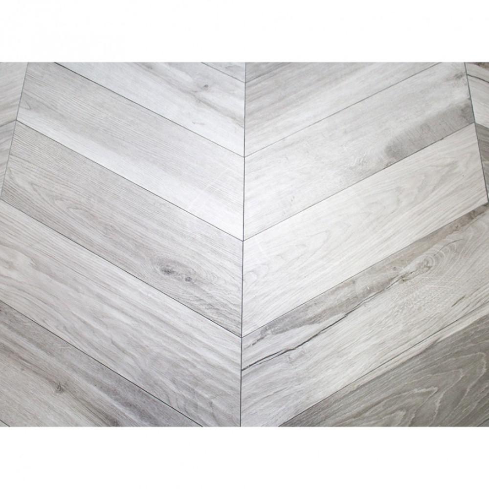 Solorez Grigio Chevron 8 in. x 32 in. 9mm Matte Porcelain Tile (6-piece / 8.82 sq. ft. / box)