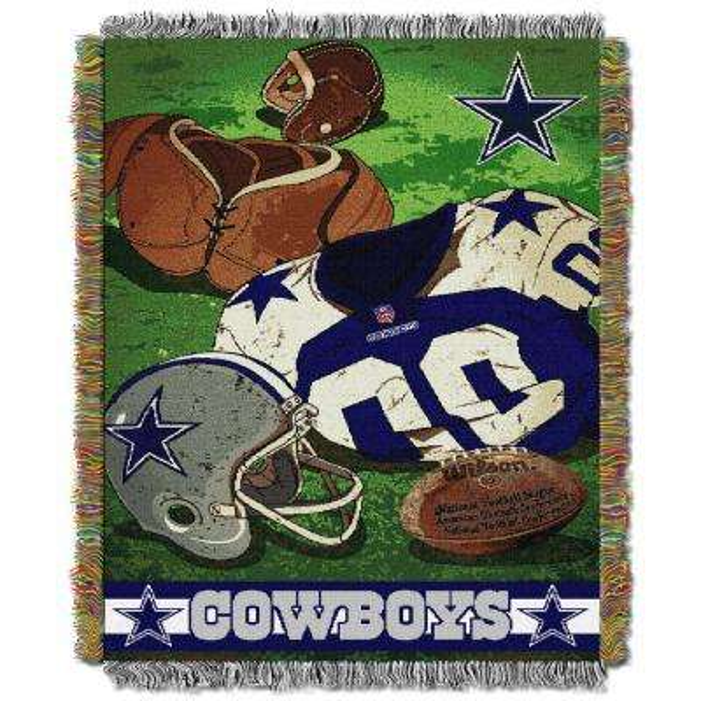 Cowboys Multi-Color Tapestry Vintage