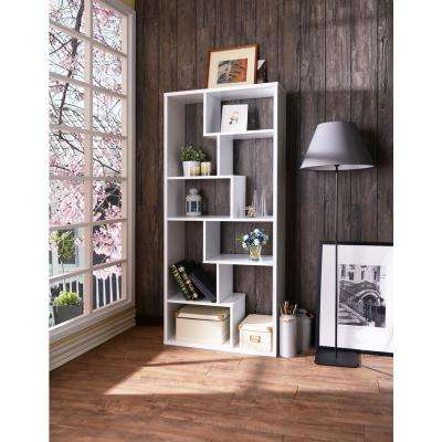 Cora Cube Bookcase in White