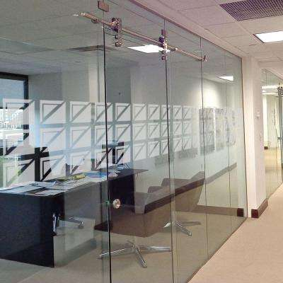 14 in. x 50 in. Neoglass Decorative Premium Etched Glass Window Film