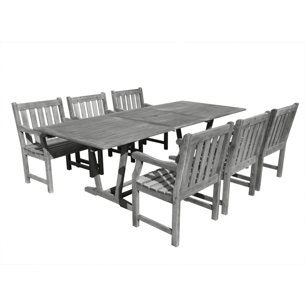 Renaissance 7-Piece Rectangle Patio Dining Set