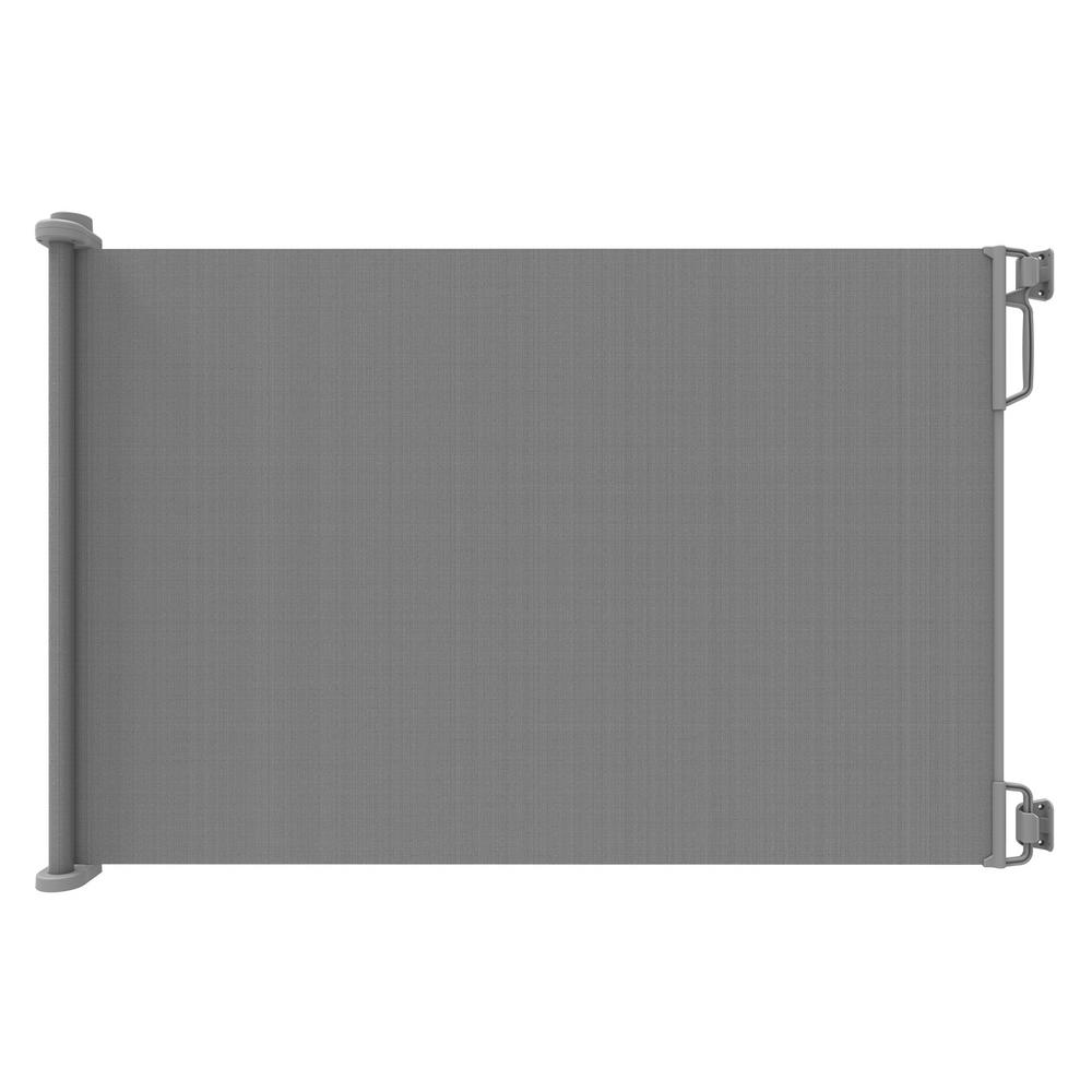 39.4 in. H Extra Tall and Extra Wide Outdoor Retractable Gate,