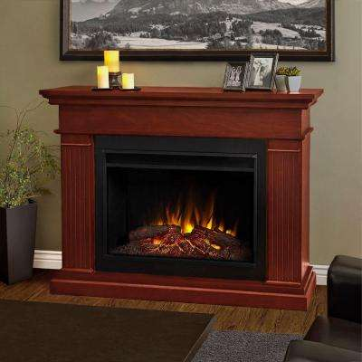 Kennedy 56 in. Grand Series Electric Fireplace in Dark Espresso