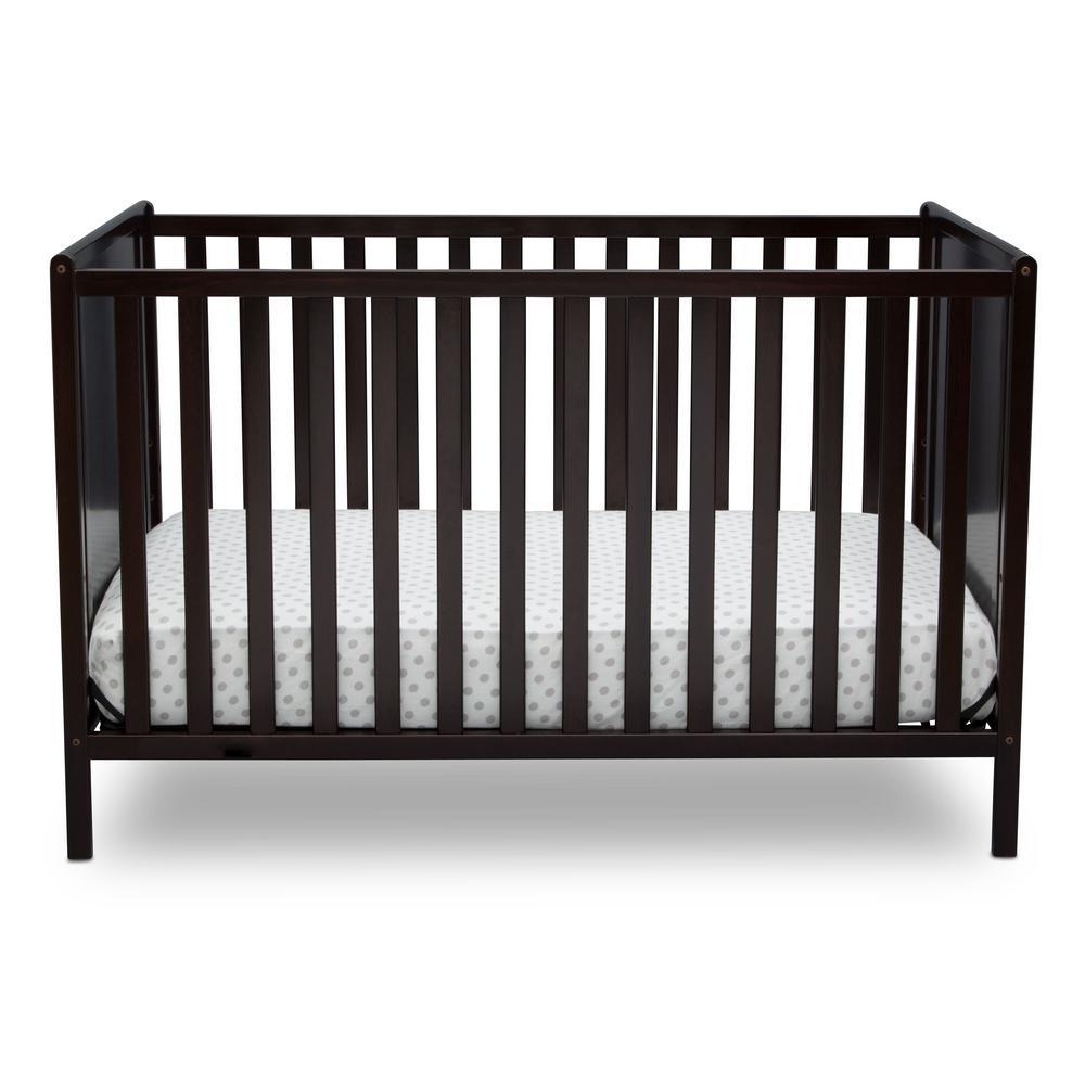 Heartland Classic 4-in-1 Dark Chocolate Convertible Crib
