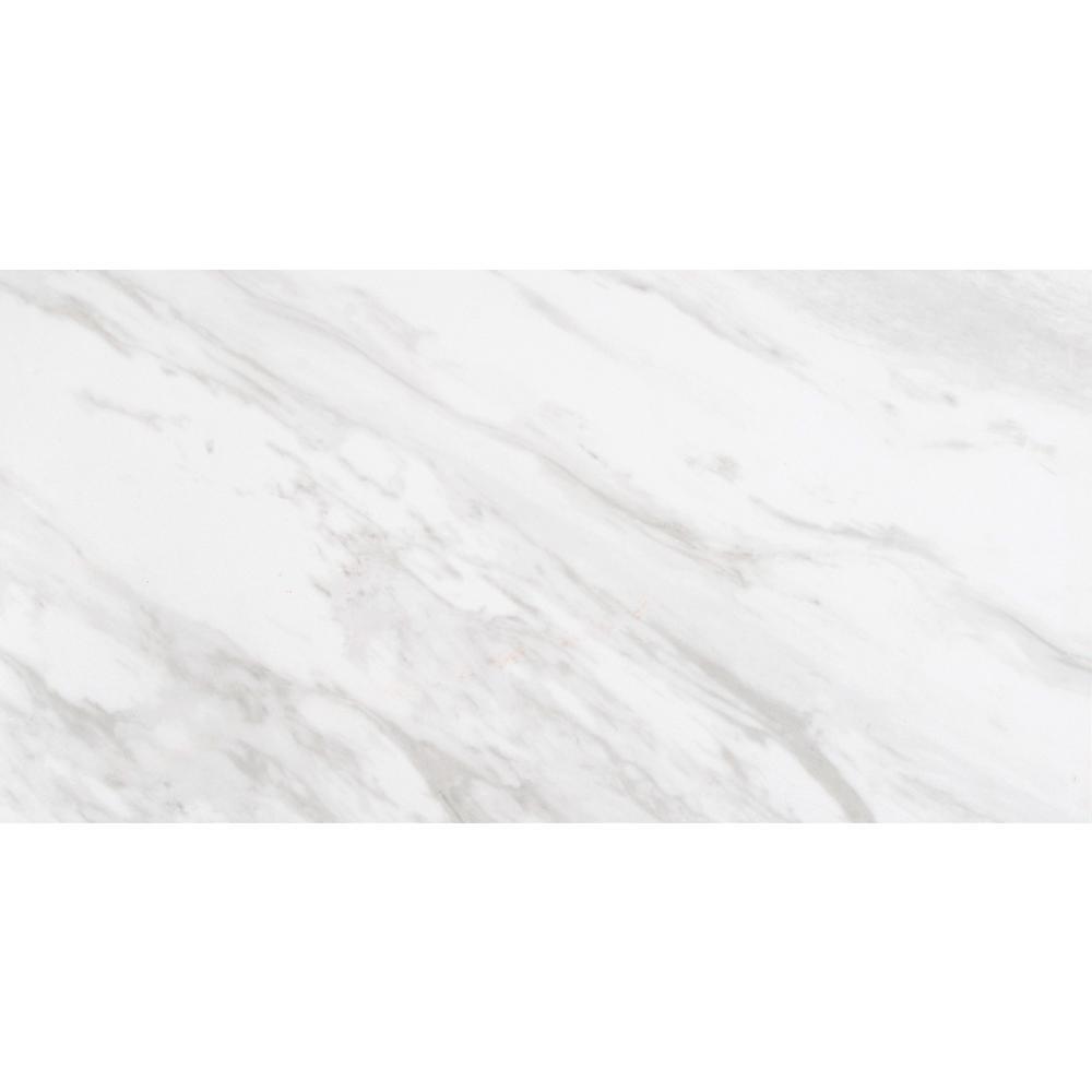 Kolasus White Matte 12 In X 24