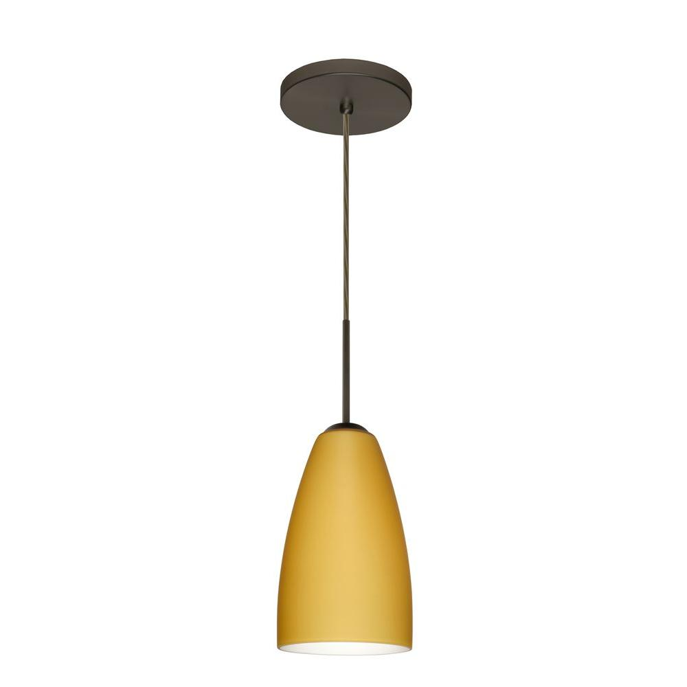 Filament Design Manhattan 1-Light Bronze Pendent