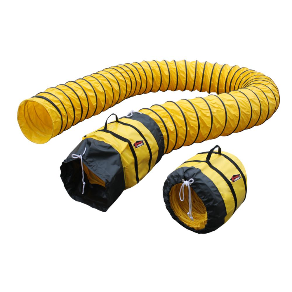6 In Flexible Duct Hose : Xpower extra flexible in dia ft ventilation pvc