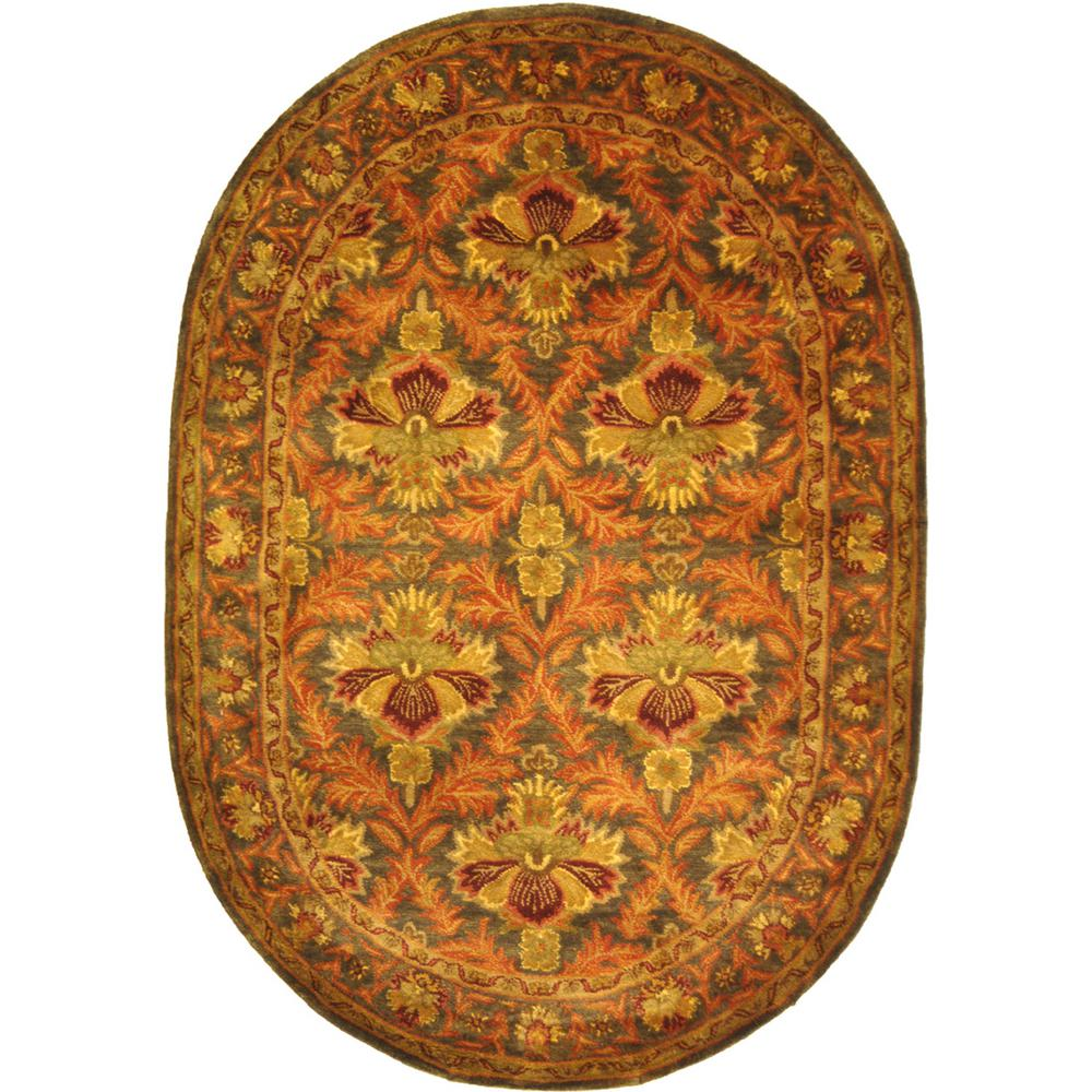 Safavieh Antiquity Sage/Gold (Green/Gold) 7 ft. 6 in. x 9...