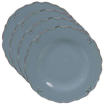Vintage Blue Dinner Plate (Set of 4)