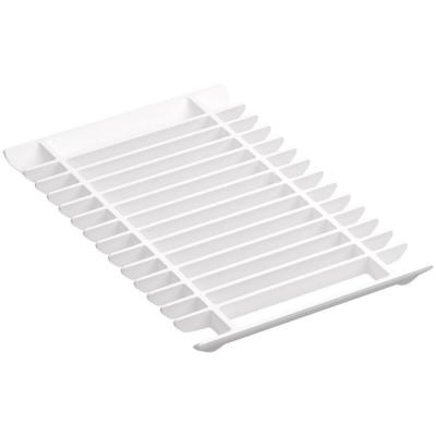 Prolific Multi-Purpose Grated Rack in White