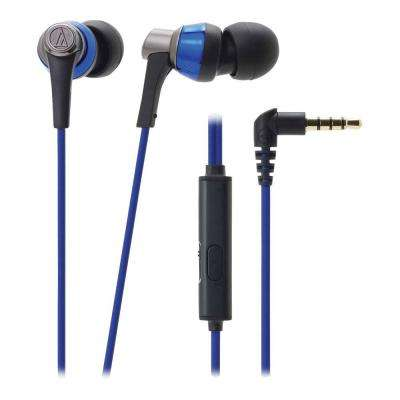 SonicPro In-Ear Headphones with In-Line Microphone and Control - Blue