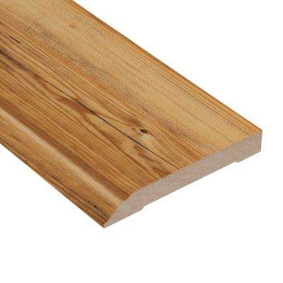 Mission Pine 1/2 in. Thick x 3-13/16 in. Wide x 94 in. Length Laminate Wall Base Molding