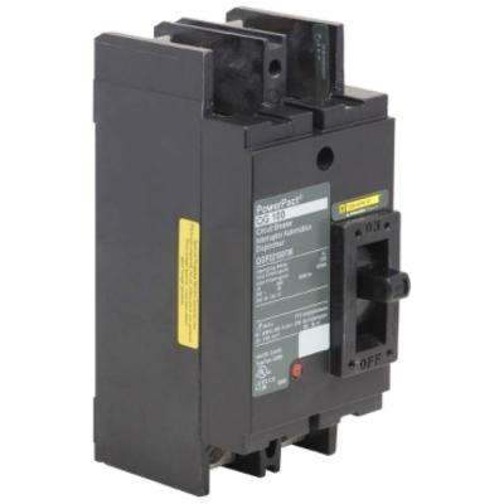 PowerPact 100 Amp 65kA  2-Pole Q-Frame Molded Case Circuit Breaker