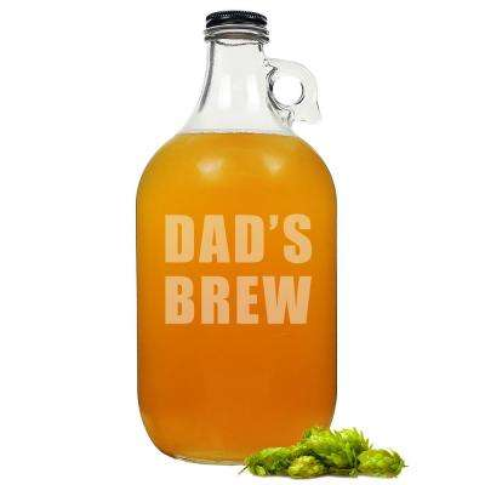 Dad's Clear Beer Growler