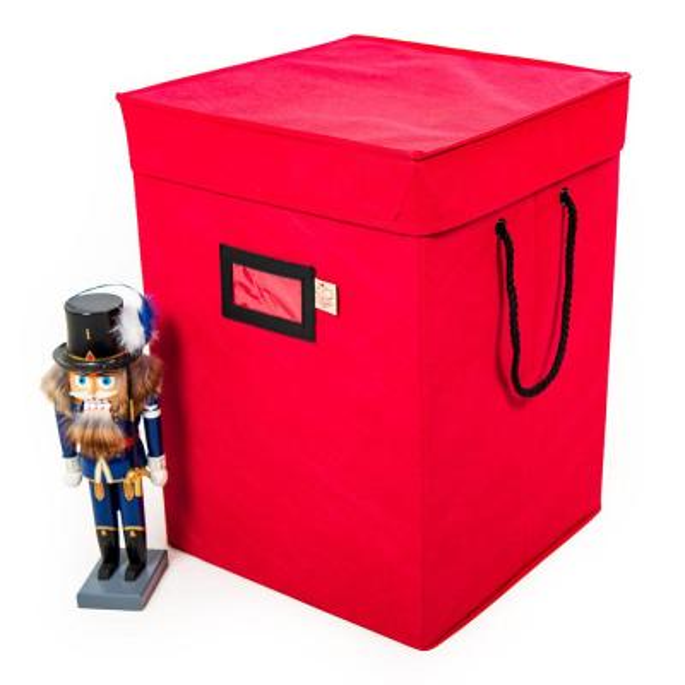 Red Nutcracker Collectibles Storage Box