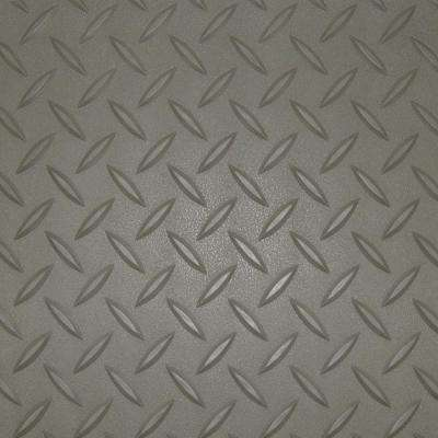 5 ft. x 20 ft. Pewter Textured PVC Rollout Flooring