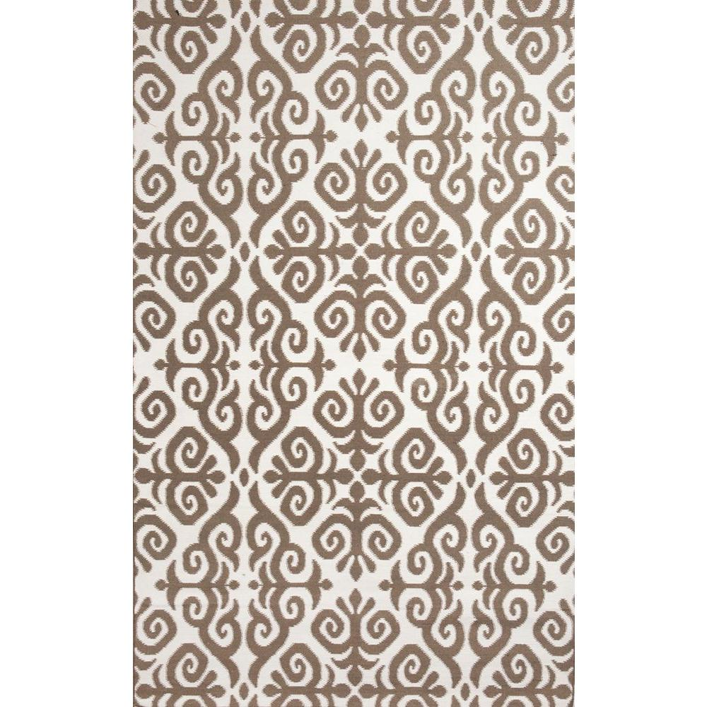 Bahar Charcoal 5 ft. x 8 ft. Indoor/Outdoor Area Rug