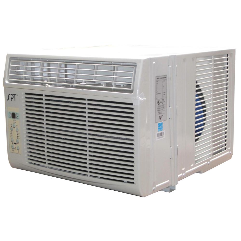 spt 12,000 btu energy star window air conditioner with follow me