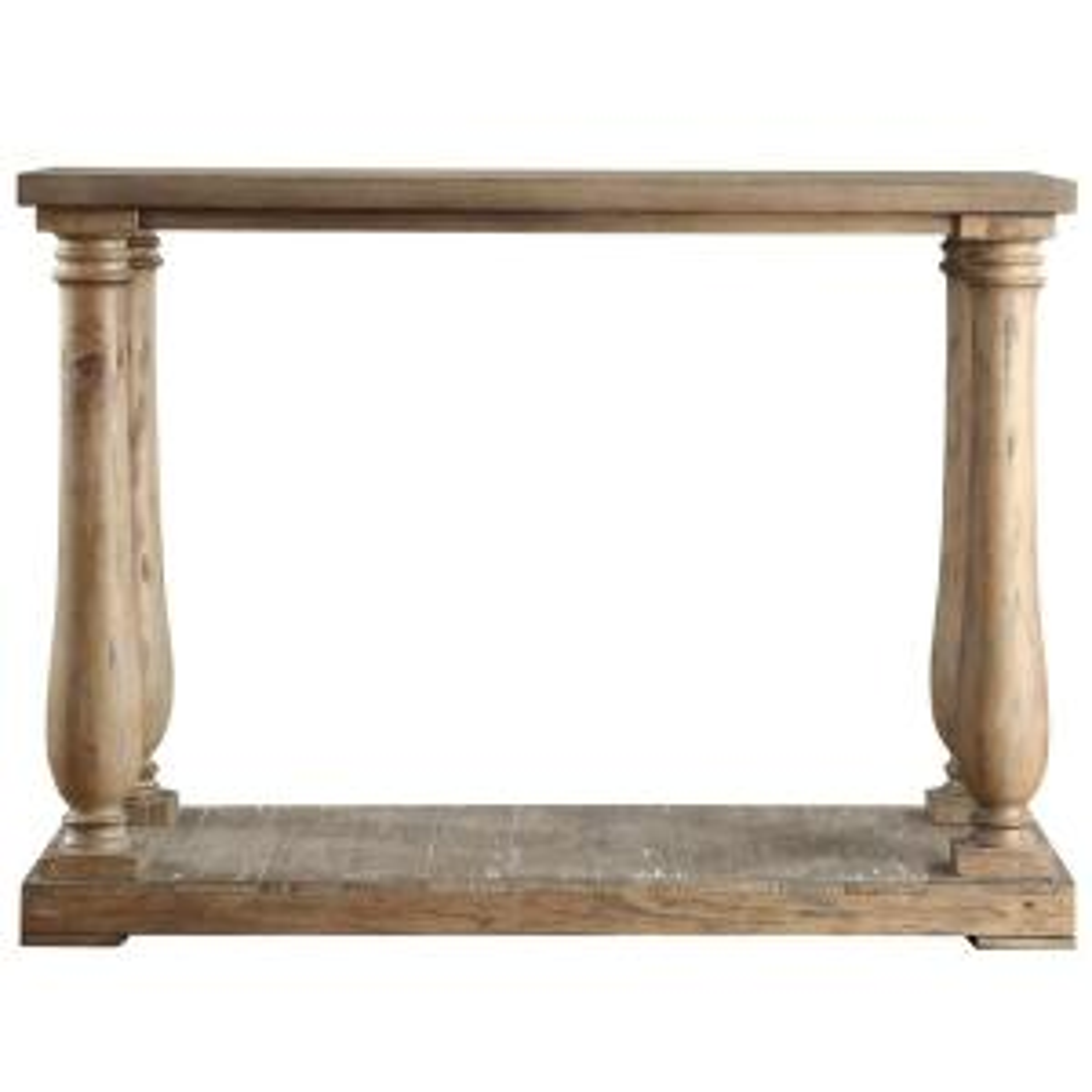 malvern hill distressed pine console table