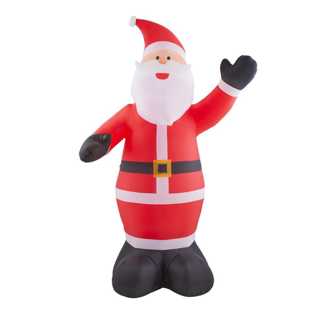 9 ft. Giant-Sized LED Inflatable Santa
