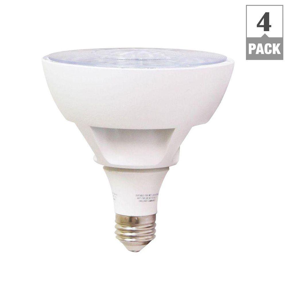 EcoSmart 50W Equivalent Daylight PAR20 LED Flood Light Bulb (4-Pack)