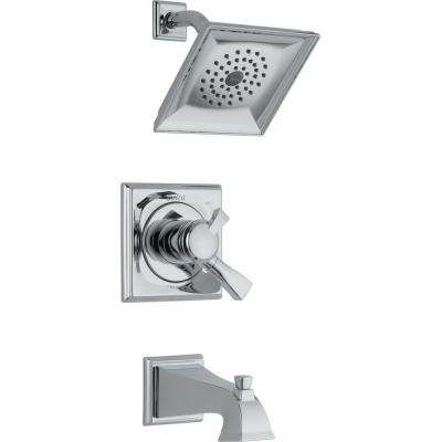 Dryden Single-Handle 1-Spray Tub and Shower Faucet in Chrome